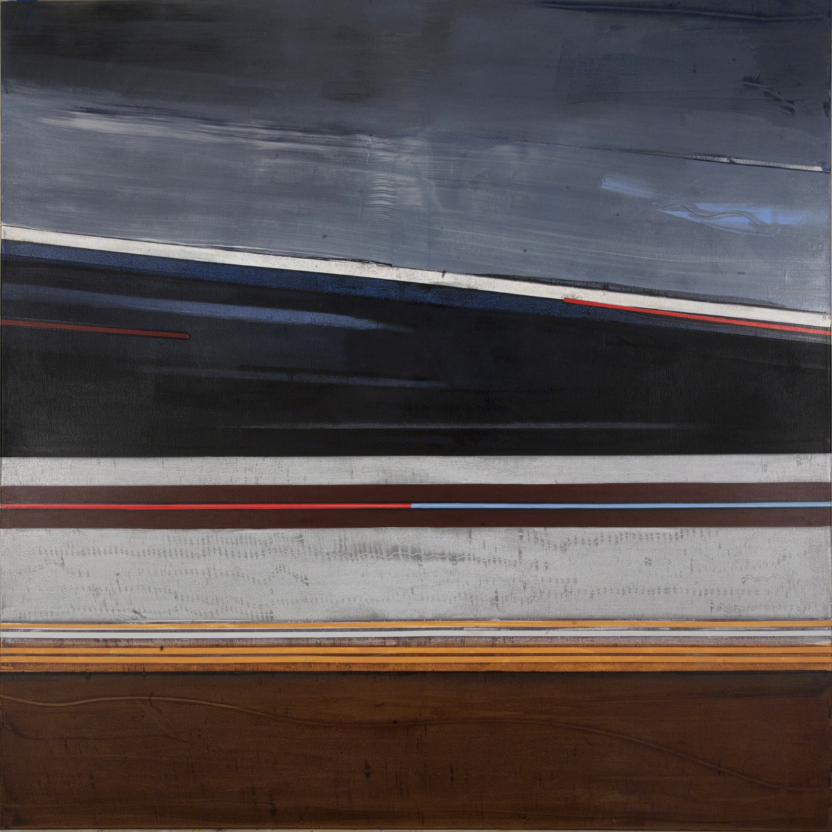Mike Coulson Abstract Paintings 2012 Mile Marker Series